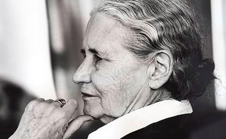 Author Doris Lessing