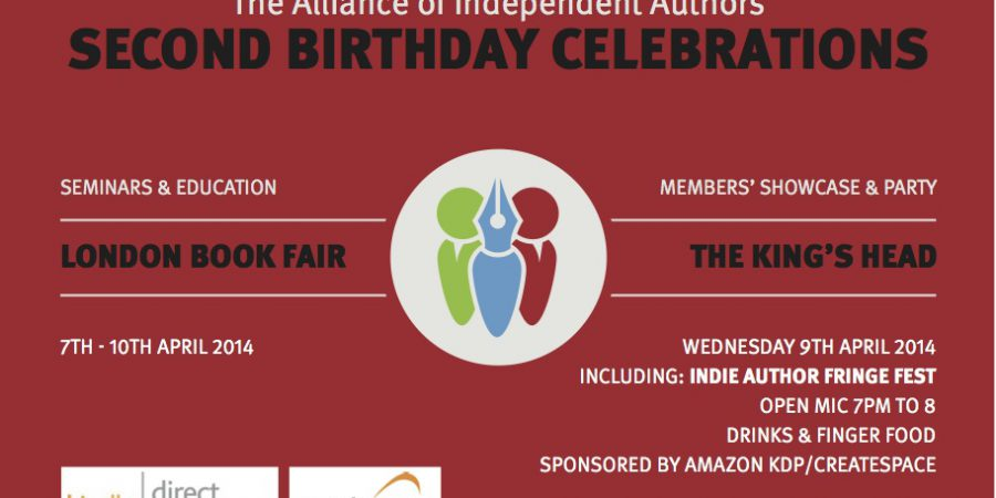 Final Call To UK Indie Authors: Come To The London Book Fair 2014.