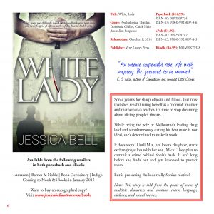 Pages detailing White Lady