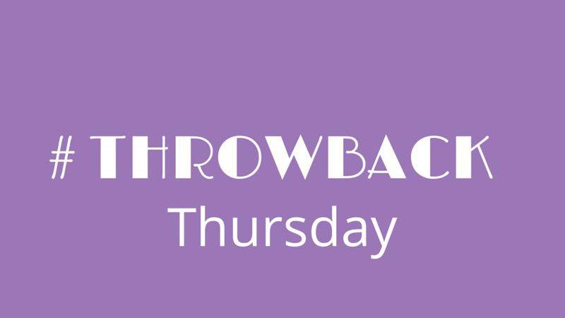 Throwback Thursday At ALLI  #TBT