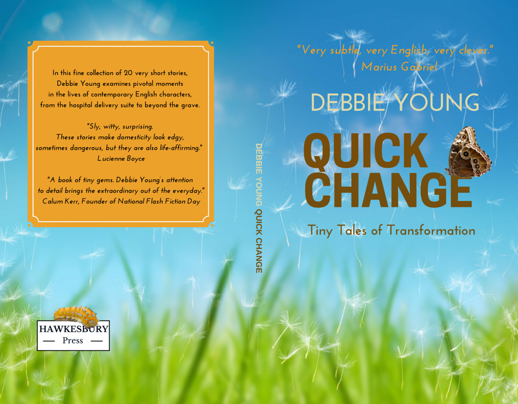 book covers for indies self publishing advice center back and front cover for debbie young s quick change