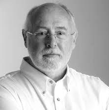 David Penny headshot black and white