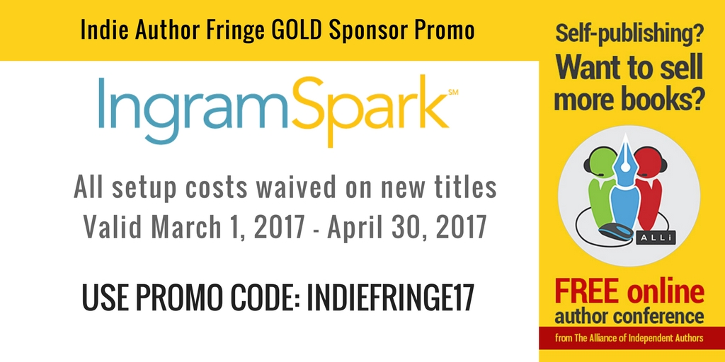 IngramSpark Indie Author Fringe Offer LBF
