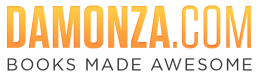 Damonza Logo Session Sponsor Indie Author Fringe