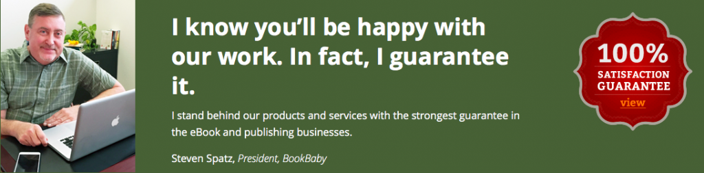 Bookbaby guarantee