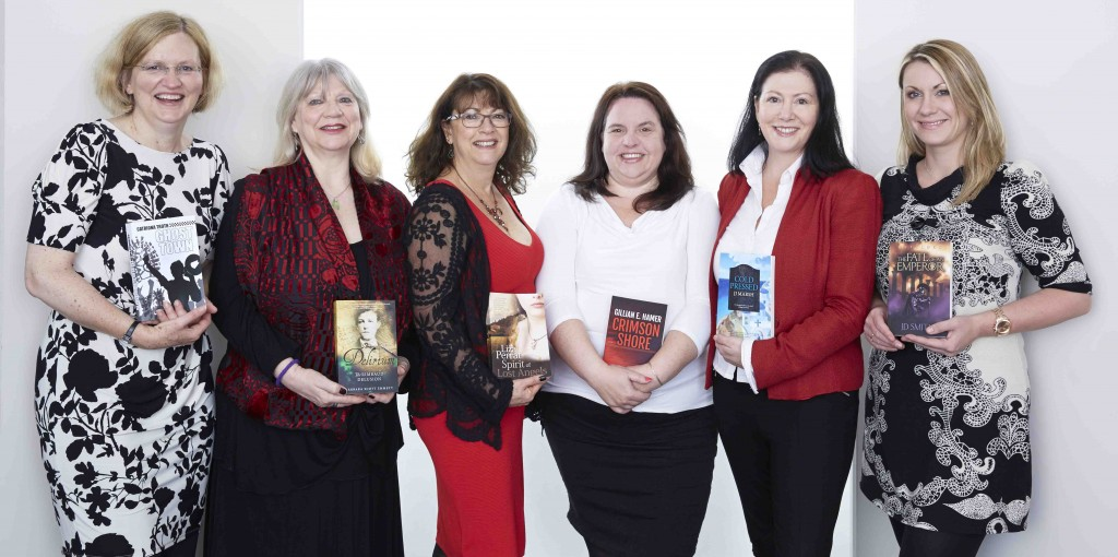 Group shot of Triskele authors