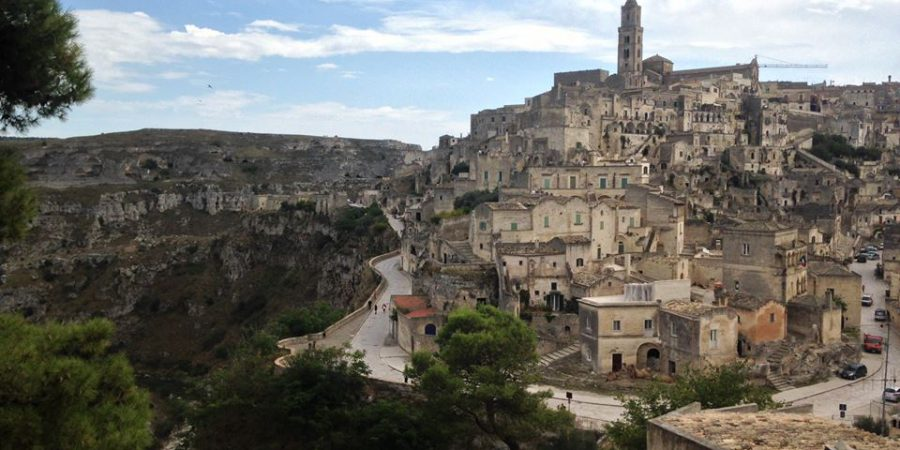 View Of Matera