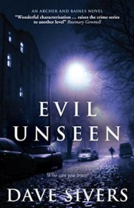 Cover of Evil Unseen by Dave Sivers