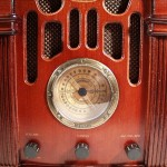 retro radio set