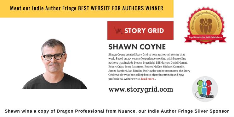 Indie Author Fringe Winner of the Best Website StoryGrid