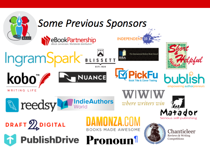Previous Sponsors for Indie Author Fringe