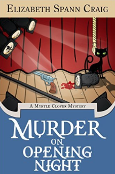 Murder on Opening Night ebook cover Elizabeth Spann Craig Indie Author Fringe Giveaway
