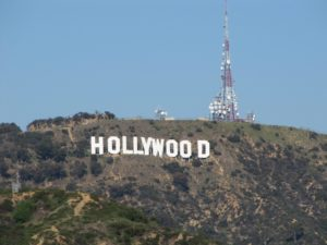 Photo of famous Hollywood sign