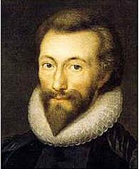 The poet John Donne (Public Domain, https://commons.wikimedia.org/w/index.php?curid=340111), but for how much longer will poets have a human face?