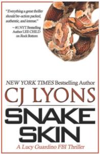 CJ Lyons Snake Skin Cover