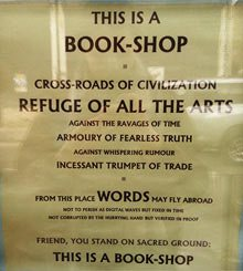Book shops are special places. This fabulous sign went viral after appearing in the window of Oxford's legendary Albion Beatnik
