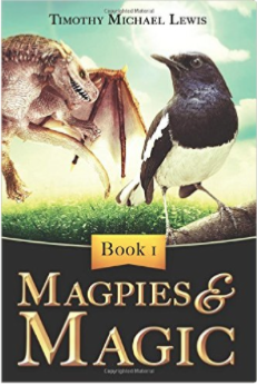 10 copies of the eBook version of Magpies and Magic Tim Lewis
