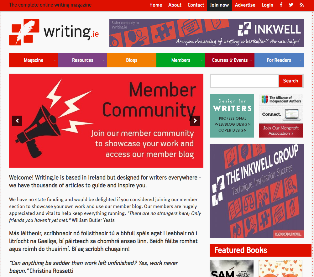 publishing writing online Writing naturally leads to self-publishing and then as so many writers have discovered, self-publishing is a fantastic opportunity to get books published and.