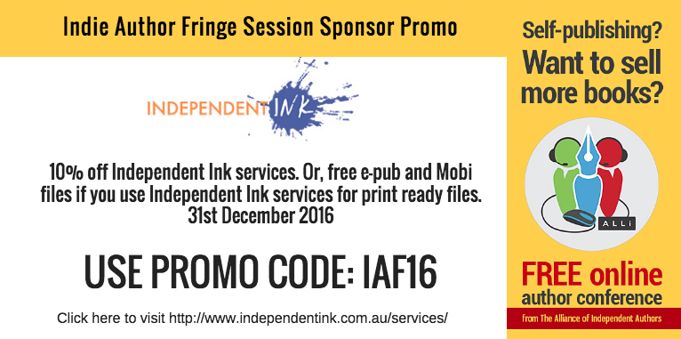 Independent Ink Session Sponsor Coupon