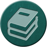 icon: stack of books