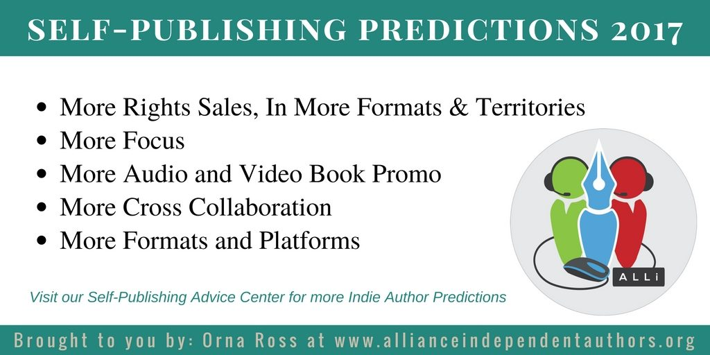 Self-Publishing Predictions from Orna Ross at the Alliance of Independent Authors on our Self-Publishing Advice Center at http://bit.ly/A1predict