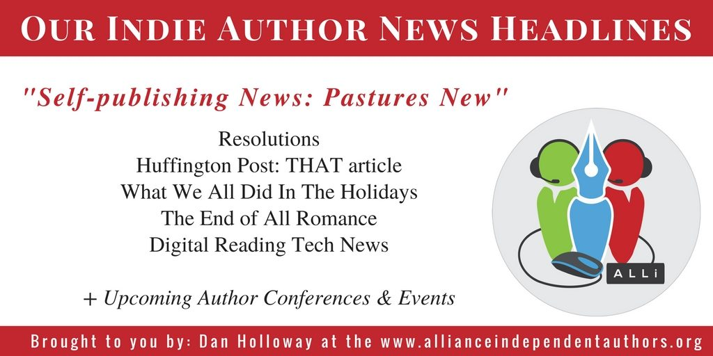 Dan Holloway Indie Author News Pastures New brought to you by the Alliance of Independent Authors http://bit.ly/IAFNews13