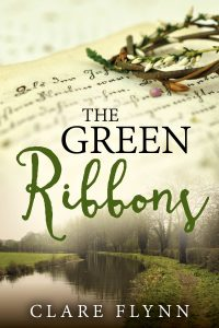 Cover of The Green Ribbons by Clare Flynn