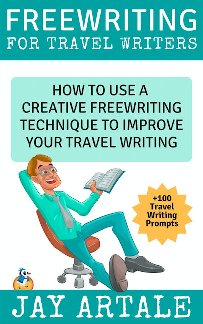 How to use a creative free writing technique Jay Artale Book Cover