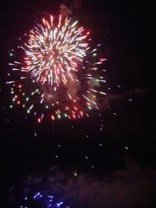 Image of firework display