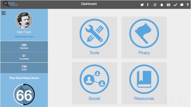 Buzztrace dashboard
