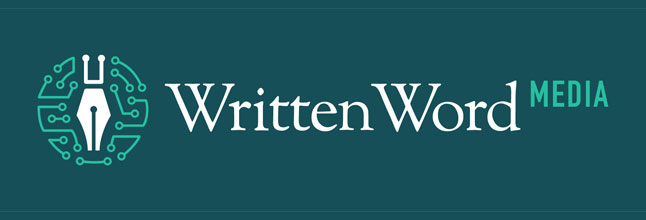 written word media logo