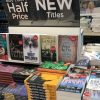 Picture of Carol Cooper novel in airport store display