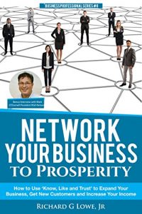 Cover of Richard G Lowe's book about networking