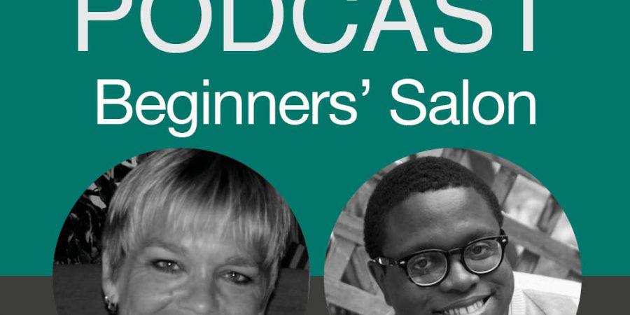 AskALLi Podcast Beginners' Salon Logo