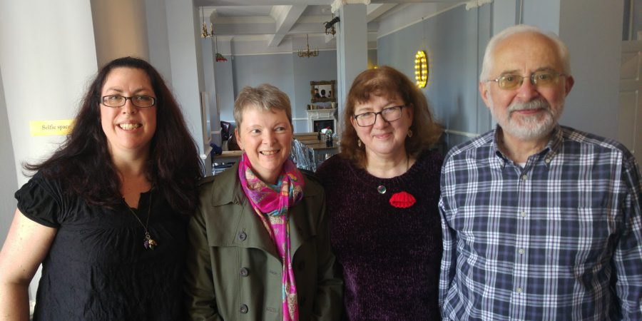 Photo Of Kate, Lucienne, Debbie And Michael