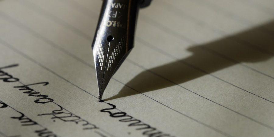 Photo Of Fountain Pen Writing