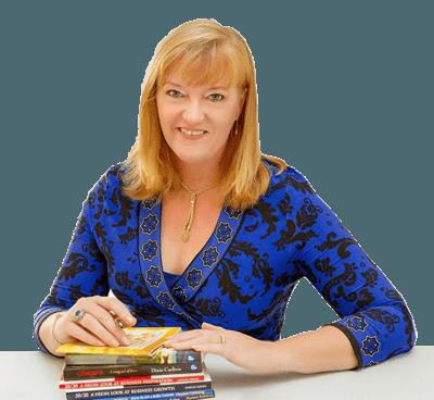 Photo Of Dixie Maria Carlton With Books