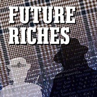 Part Of Cover Of Future Riches By Barry J Faulkner Showing Title