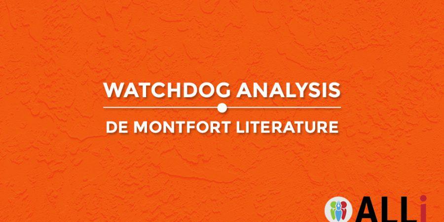 De Montfort Literature