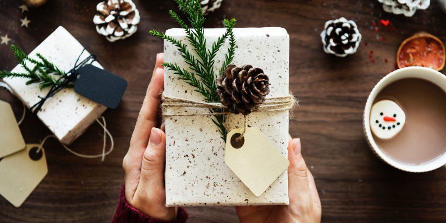 Photo Of Book Giftwrapped For Jolabokasflod