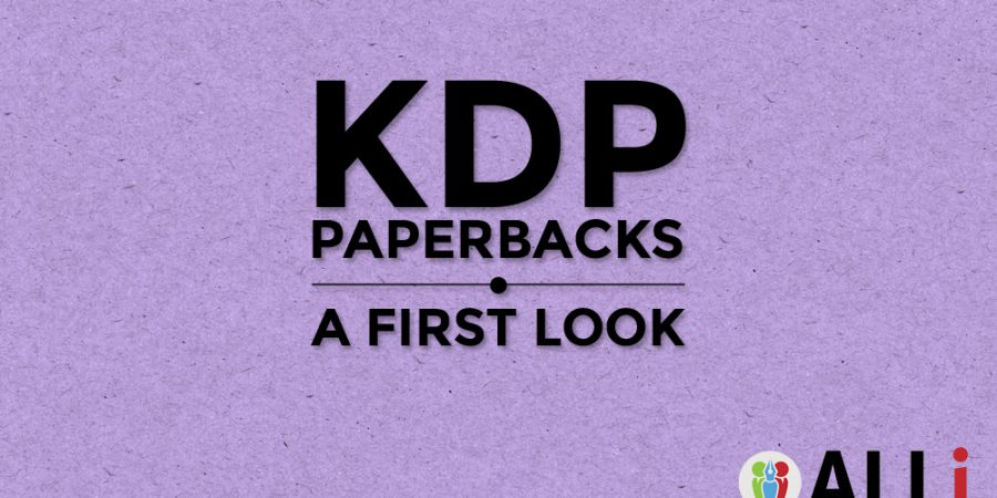 KDP Paperbacks: A First Look