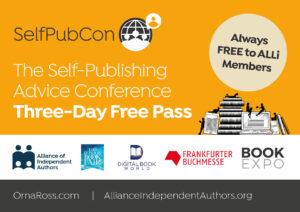 SelfPubCon Free Pass