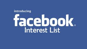 Facebook Interest Lists for indie authors