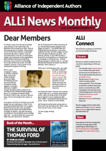 Newsletter of the Alliance of Independent Authors