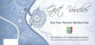 ALLi Gift Voucher for self publishing partners