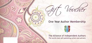 Gift Vouchers For Indie Authors Alliance