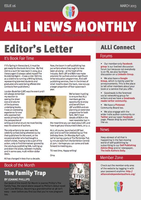 ALLi Newsletter Mar 2013