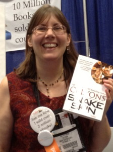 Bestselling Indie Author CJ Lyons at BEA Booth 966