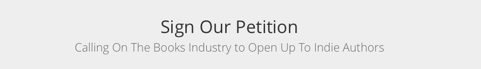 Open up to indie author petition