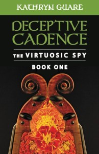 Cover of Kathryn Guare's first novel, Deceptive Cadence